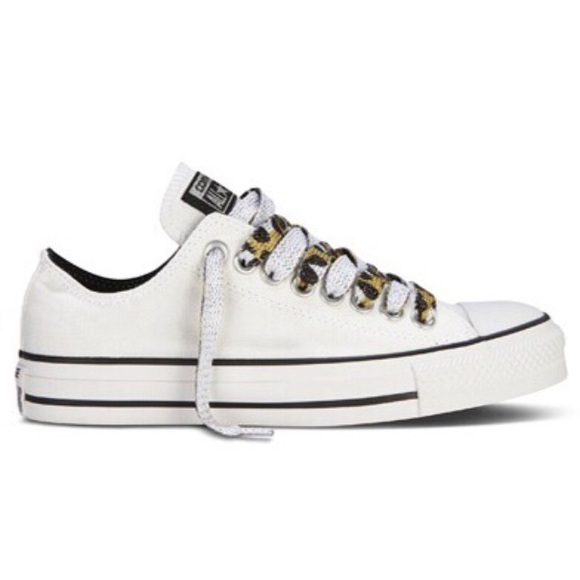 80be7bdbc83 Converse Shoes - Converse Chuck Taylor All Star Low Printed Laces